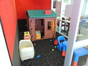 Kid-Friendly Play Room at Mark Dodge