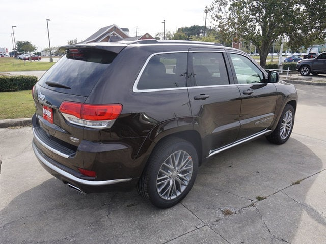 new 2017 jeep grand cherokee summit 4x4 suv summit 4x4 luxury brown pearlcoat for sale in lake. Black Bedroom Furniture Sets. Home Design Ideas