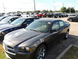 On the Lot at Mark Dodge in Lake Charles, LA