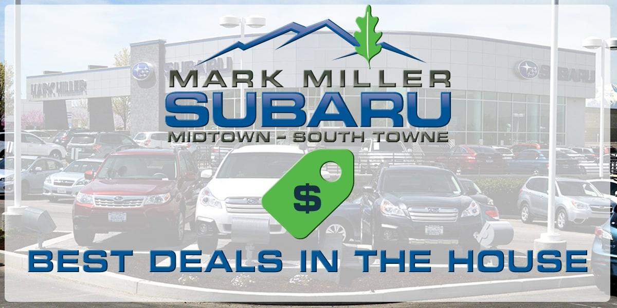 Mark miller subaru service coupons