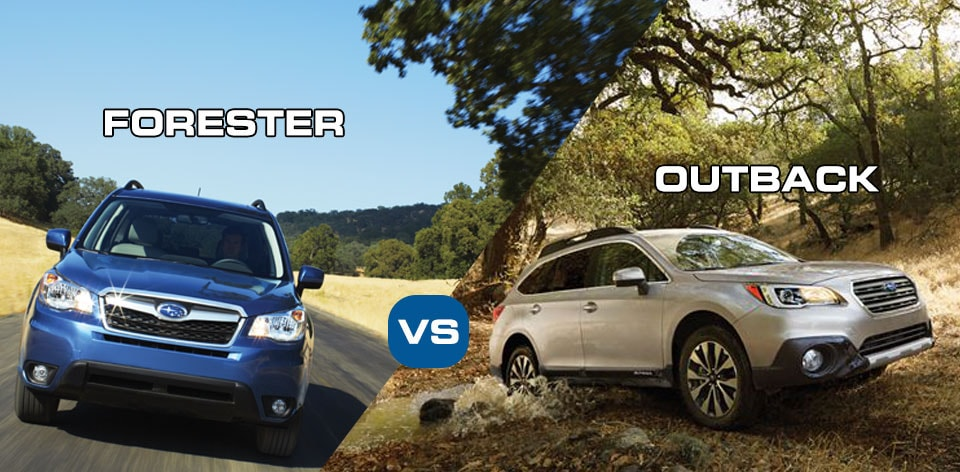 subaru has released the new 2015 outback and forester the new outback