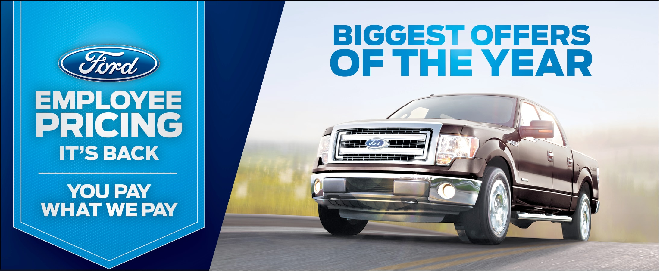 Ford f 150 employee pricing for Ford motor company employee website