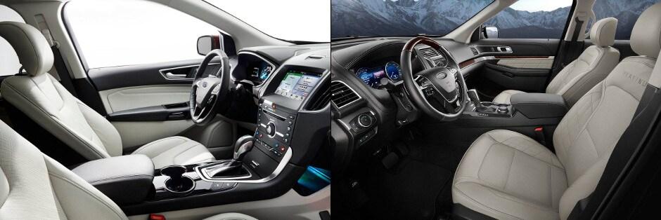 2017 Ford Edge And Explorer Interior