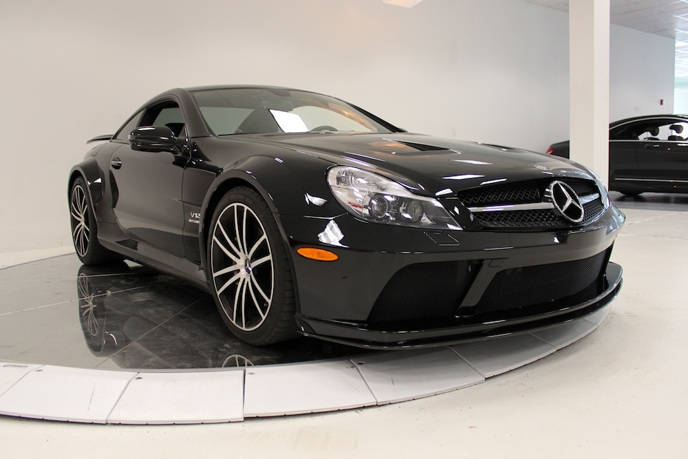 Used 2009 mercedes benz sl65 amg black series for sale for Pre owned mercedes benz ny