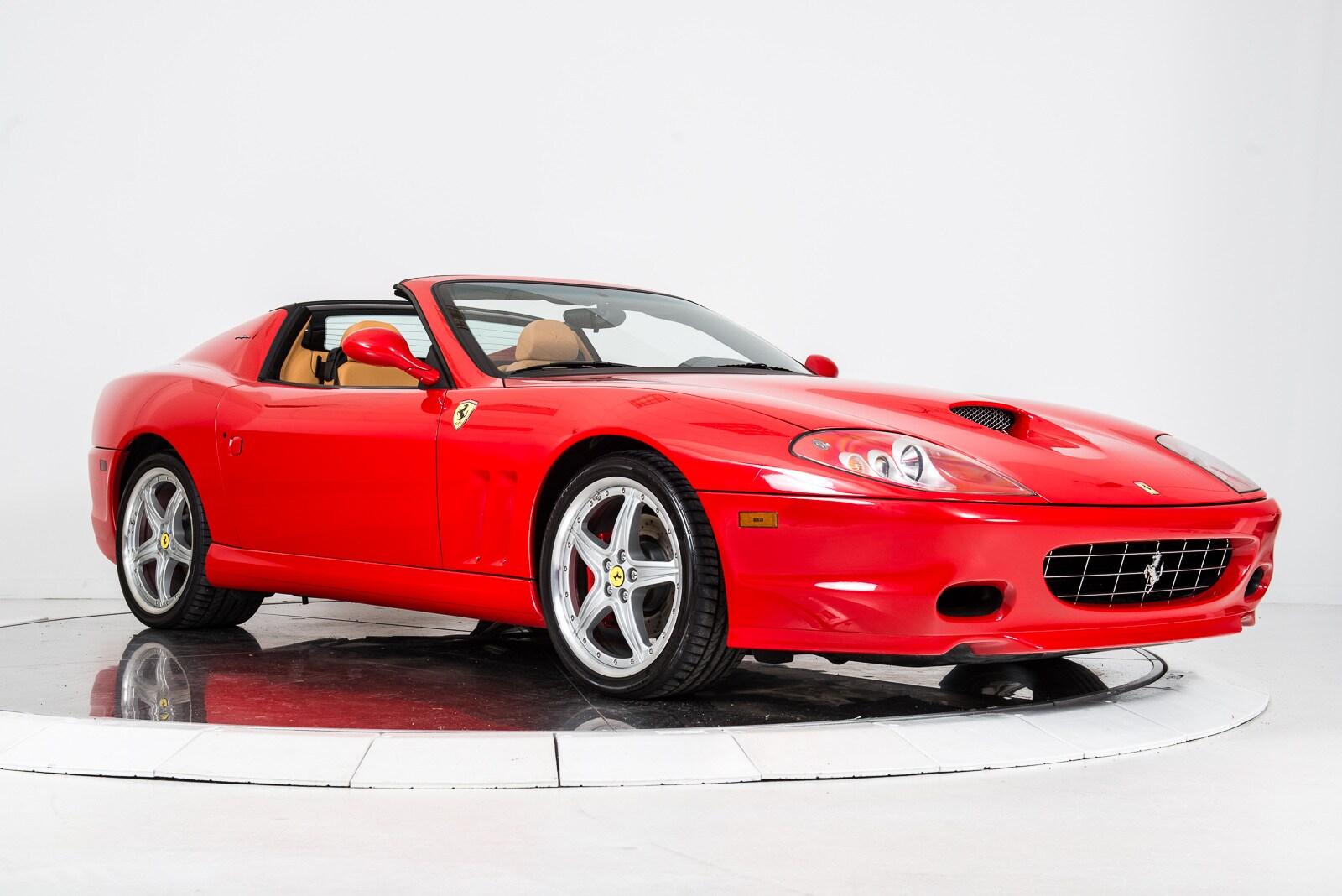 Used 2005 Ferrari 575 Superamerica In Red For Sale In Nyc