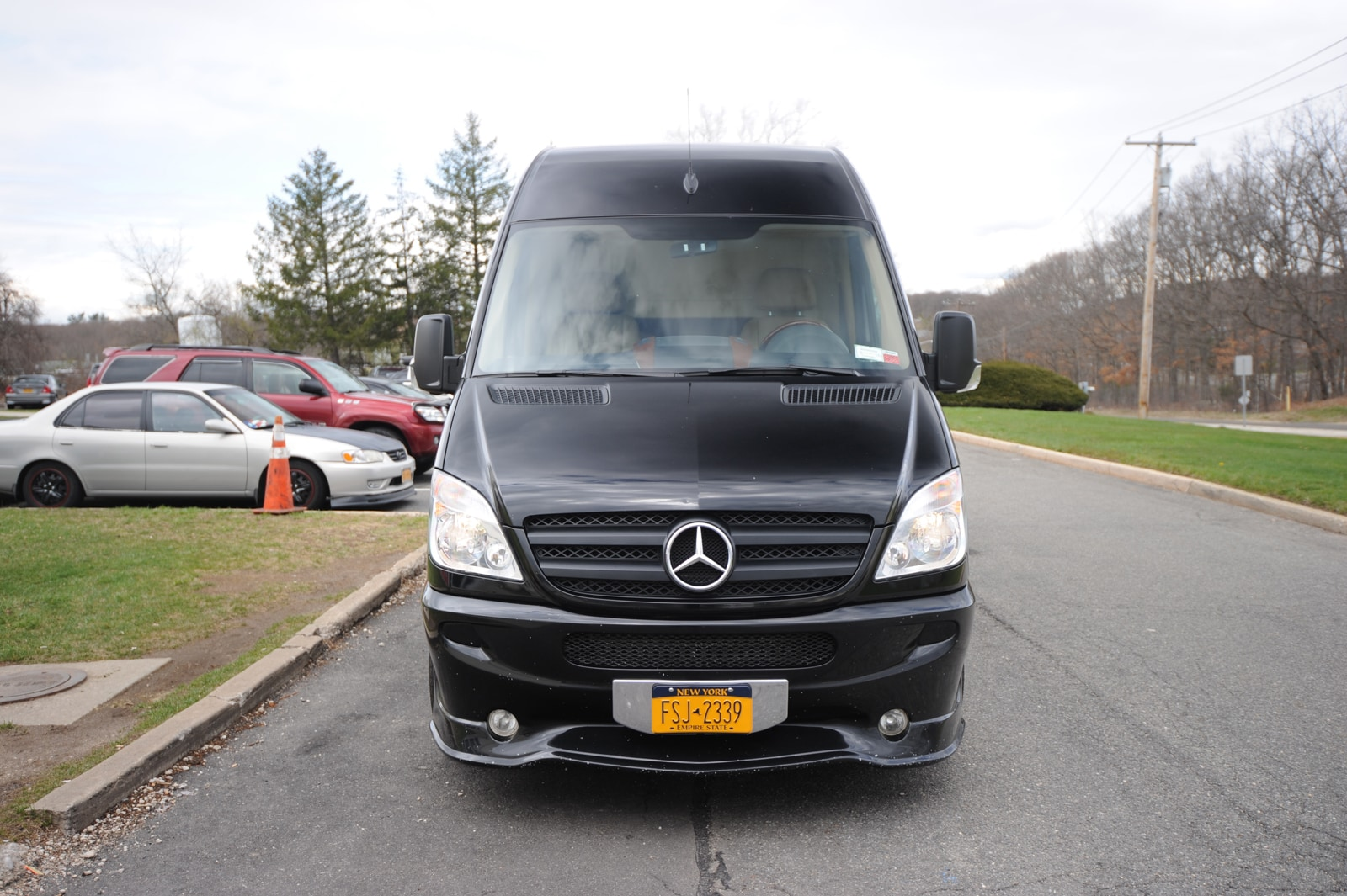Used 2012 mercedes benz sprinter midwest custom for sale for Mercedes benz dealers in long island ny