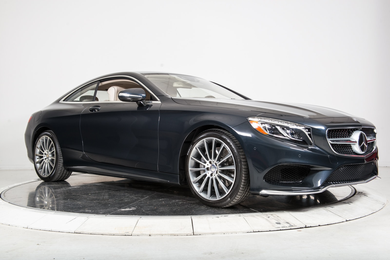 Used 2015 mercedes benz s550 4matic coupe for sale for Pre owned mercedes benz ny