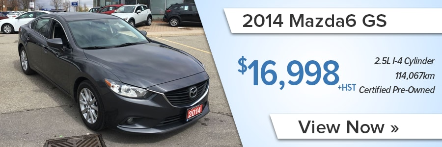 Pre Owned car deals and specials in Brampton and the GTA
