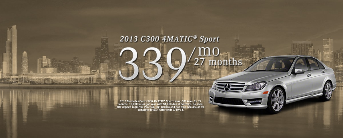 Mercedes benz of chicago exclusive mercedes benz dealer for Mercedes benz parts chicago