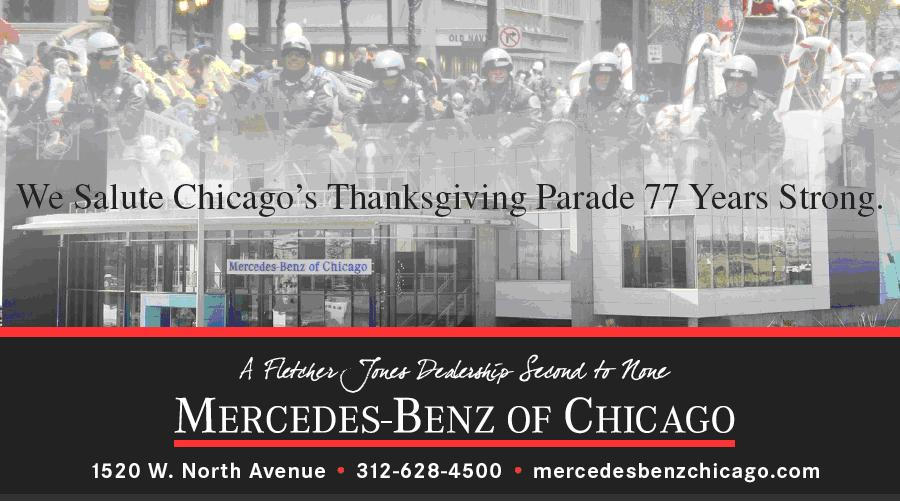 mercedes benz of chicago 2010 thanksgiving day parade mercedes benz. Cars Review. Best American Auto & Cars Review