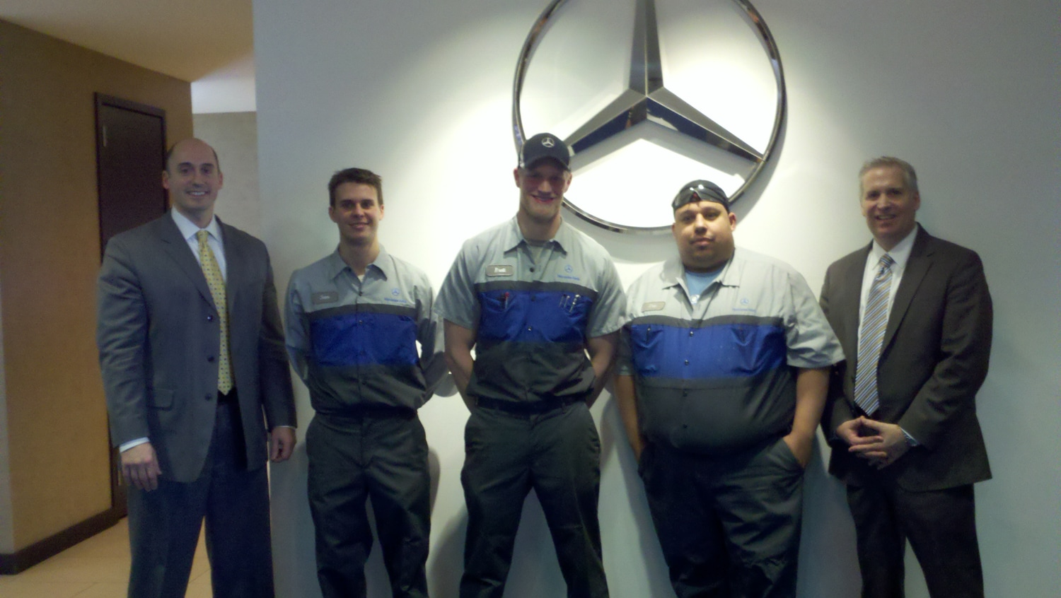 Mercedes benz authorized service technician for Mercedes benz of hanover staff
