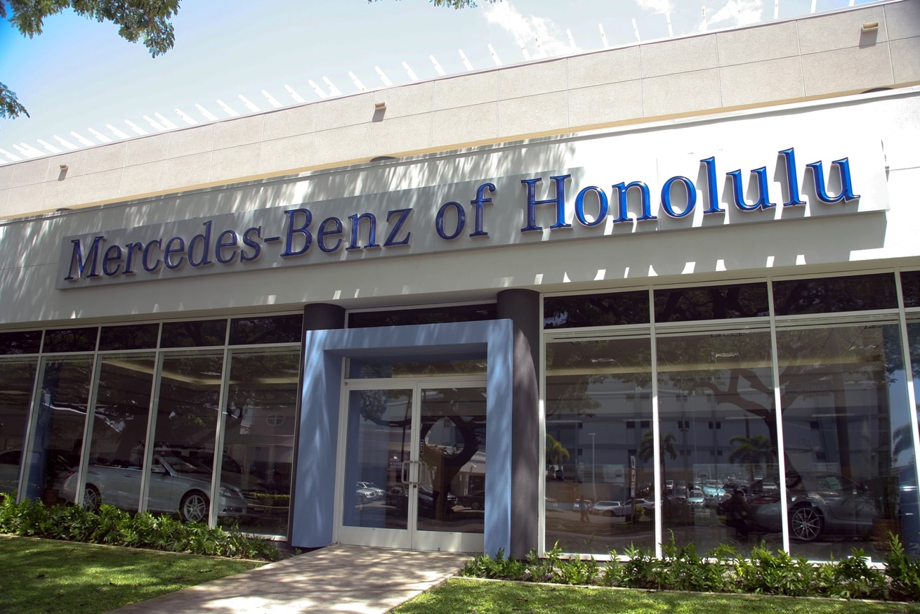 Driving directions to our honolulu mercedes benz for Mercedes benz honolulu inventory
