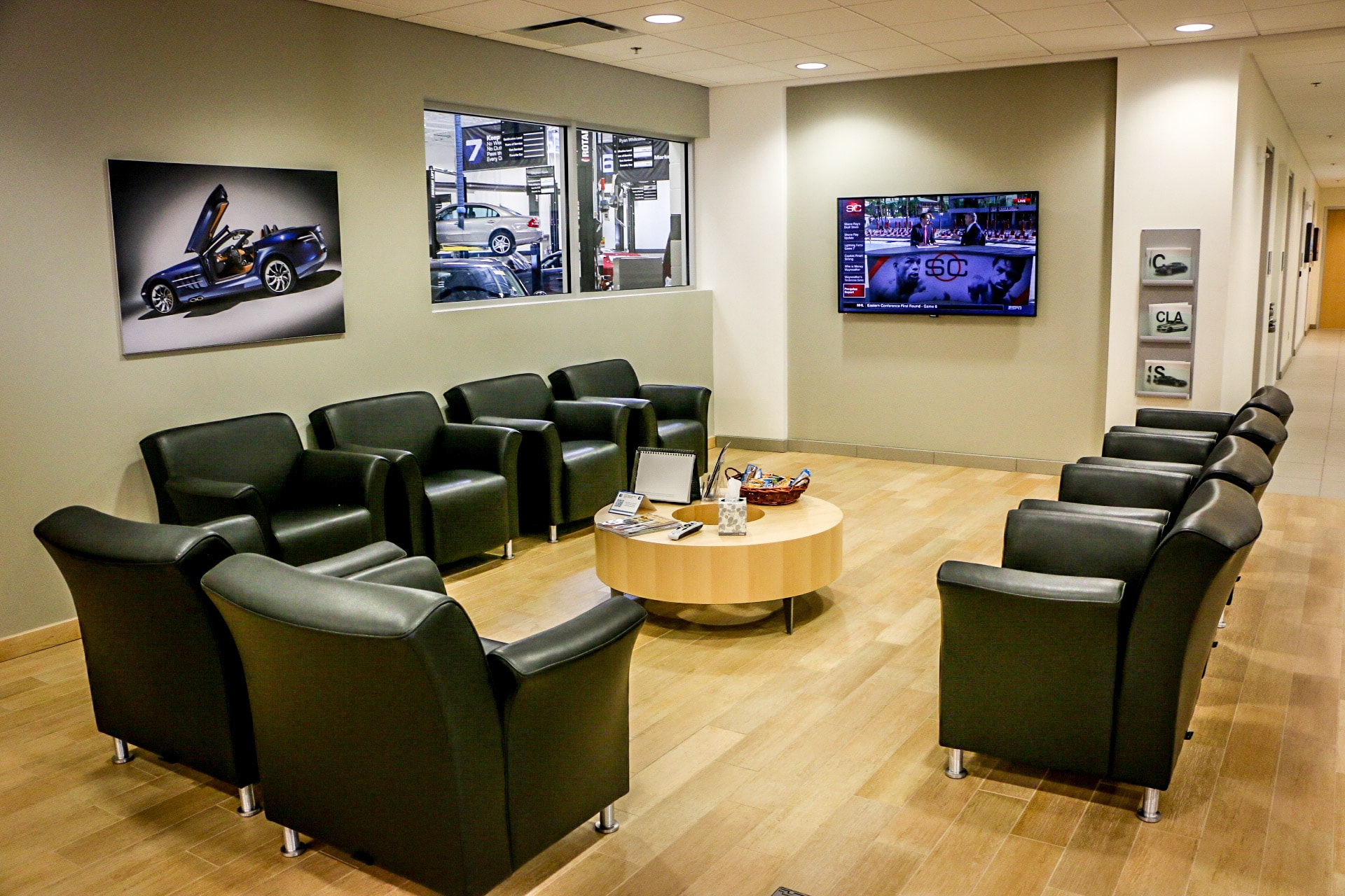 Mercedes-Benz of Durham Customer Lounge