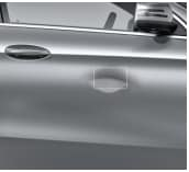 This is an example of large dent. This will not pass the Mercedes-Benz Credit Card Test.