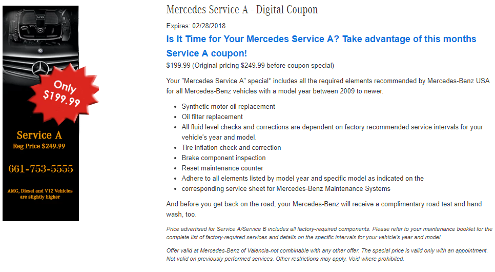 Mercedes benz of valencia new mercedes benz dealership for Schedule c service mercedes benz