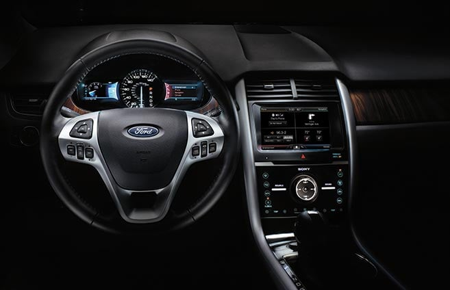 2014 Ford Edge Seating Images