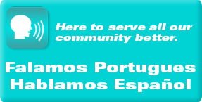 We speak Spanish and Portugues