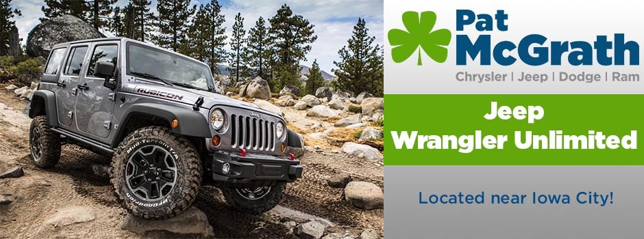 jeep wrangler unlimited iowa city jeep dealer mcgrath auto. Black Bedroom Furniture Sets. Home Design Ideas