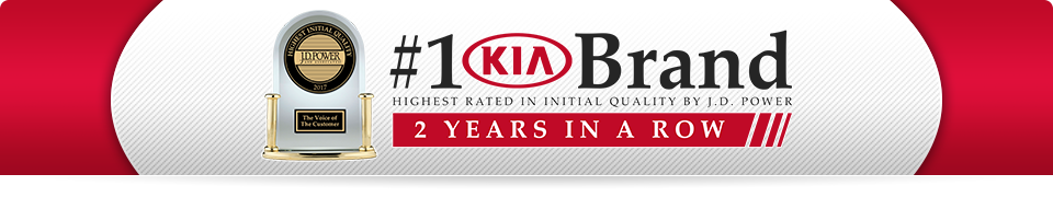 Kia Best in Initial Quality