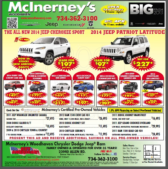 McInerney's Woodhaven Chrysler Dodge Jeep