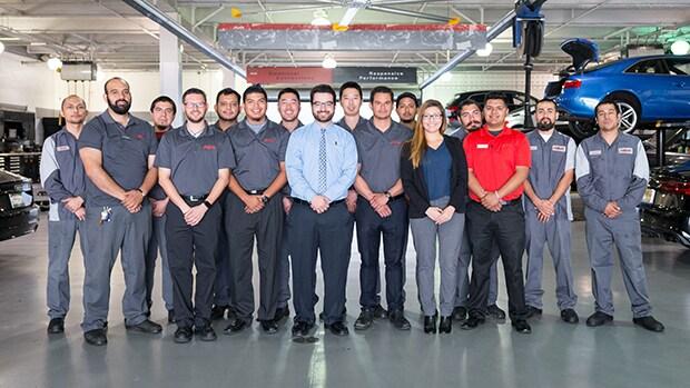 McKenna Audi Service Team in Norwalk