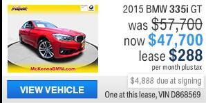 2015 BMW 335i Gran Turismo