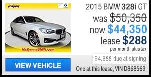 2015 BMW 328i Gran Turismo
