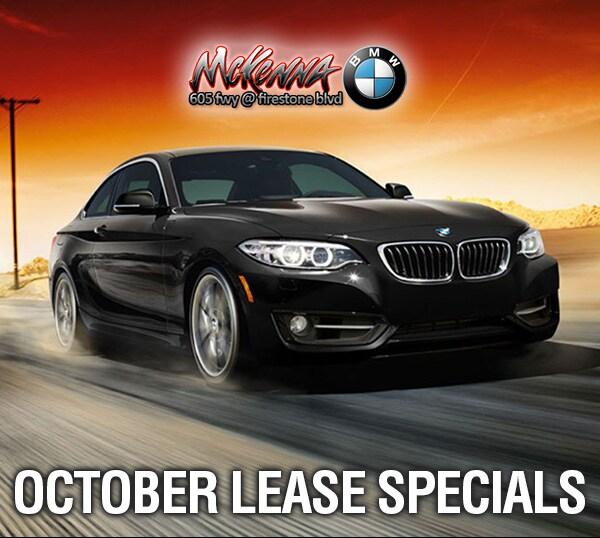 October Lease Specials