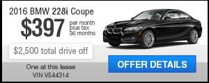 Lease a 2016 228i Coupe
