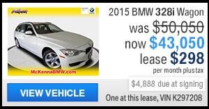 2015 BMW 328i Sports Wagon