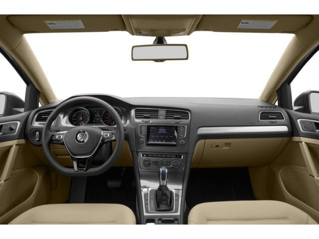 2016 VW e-Golf Interior
