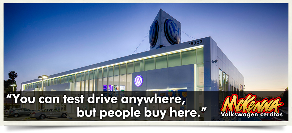 Why Buy McKenna | McKenna Volkswagen Cerritos