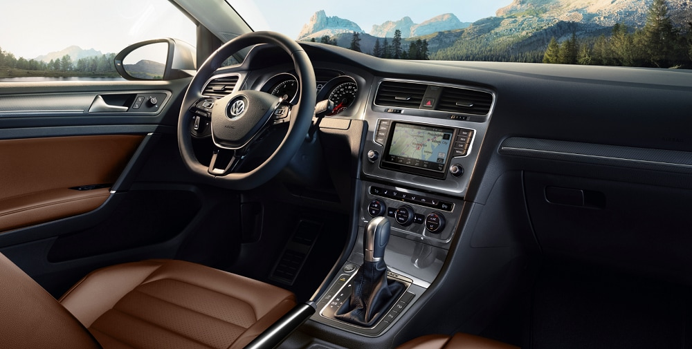 2017 VW Golf Alltrack Interior