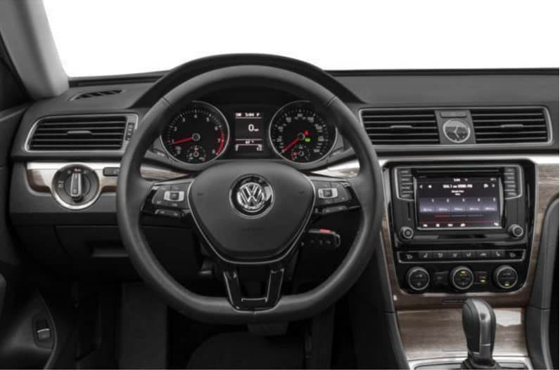 2017 VW Passat Dashboard