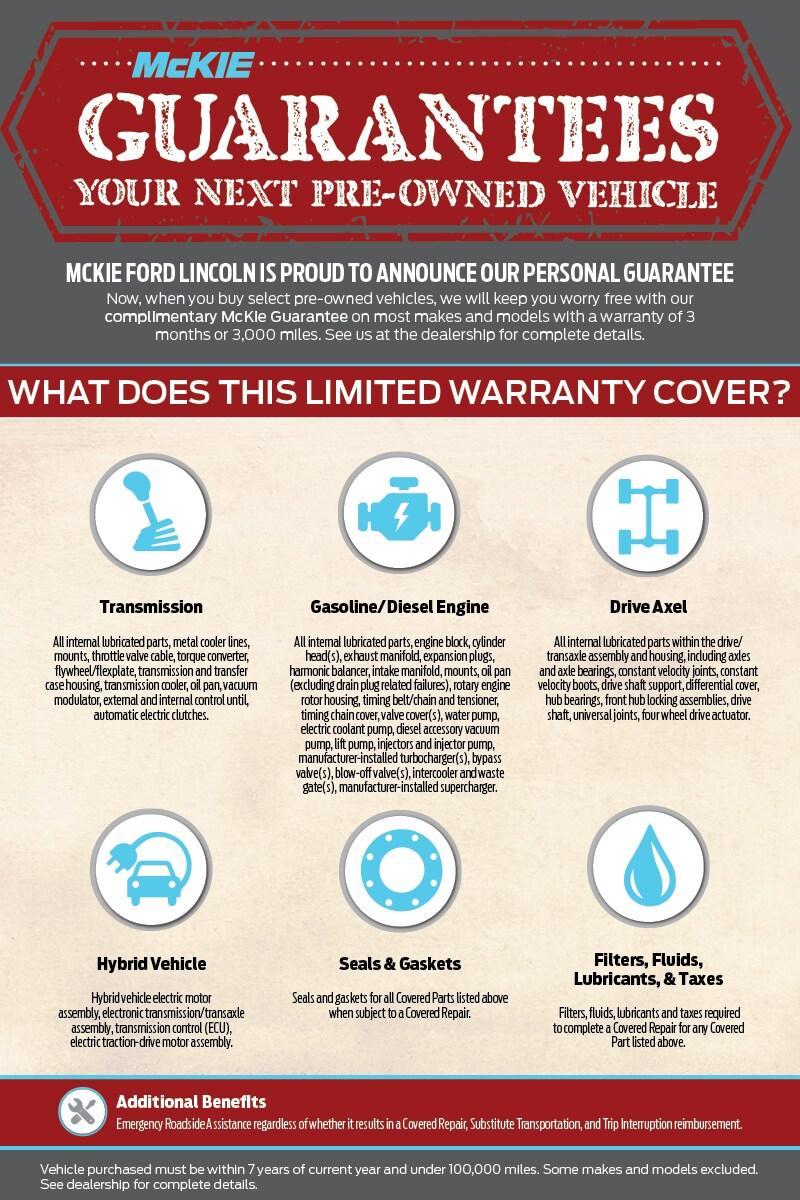 Guaranteed Used Car Warranty at McKie Ford  sc 1 st  McKie Ford Lincoln & Used Car Warranty Offers at McKie Ford in Rapid City markmcfarlin.com