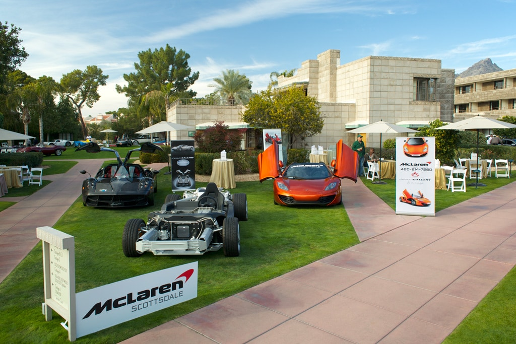 McLaren Scottsdale at the Arizona Concours d'Elegance