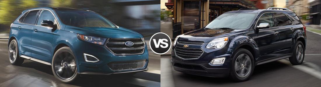 Compare 2017 Ford Edge vs 2017 Chevy Equinox  Sumter SC