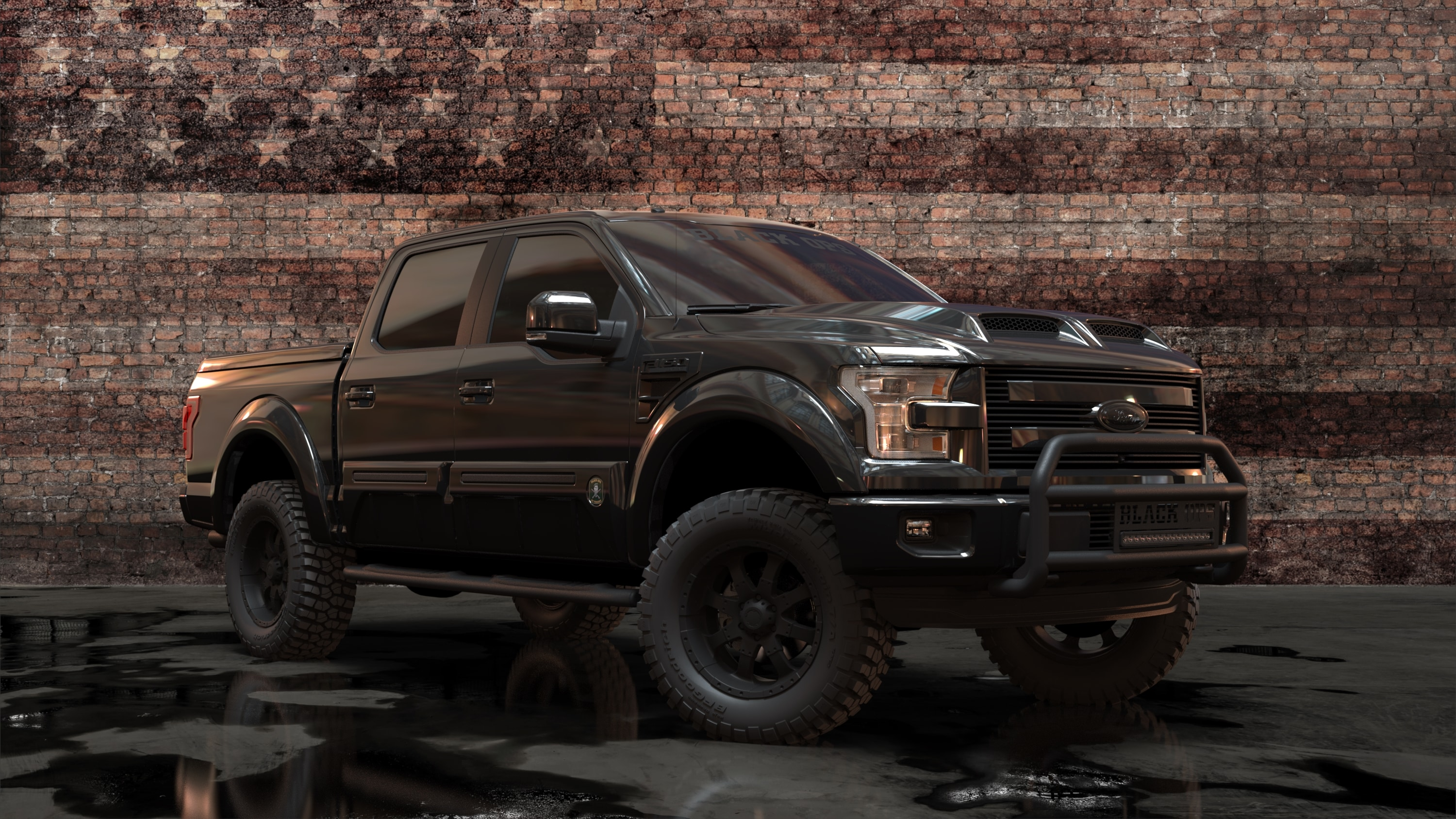 tuscany f series ftx black ops custom lifted trucks. Black Bedroom Furniture Sets. Home Design Ideas