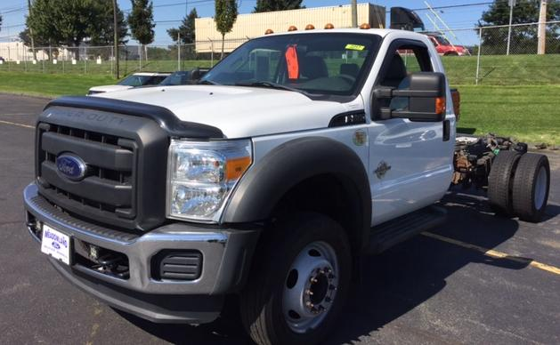 2012 Ford F-550 Chassis XL Truck Regular Cab