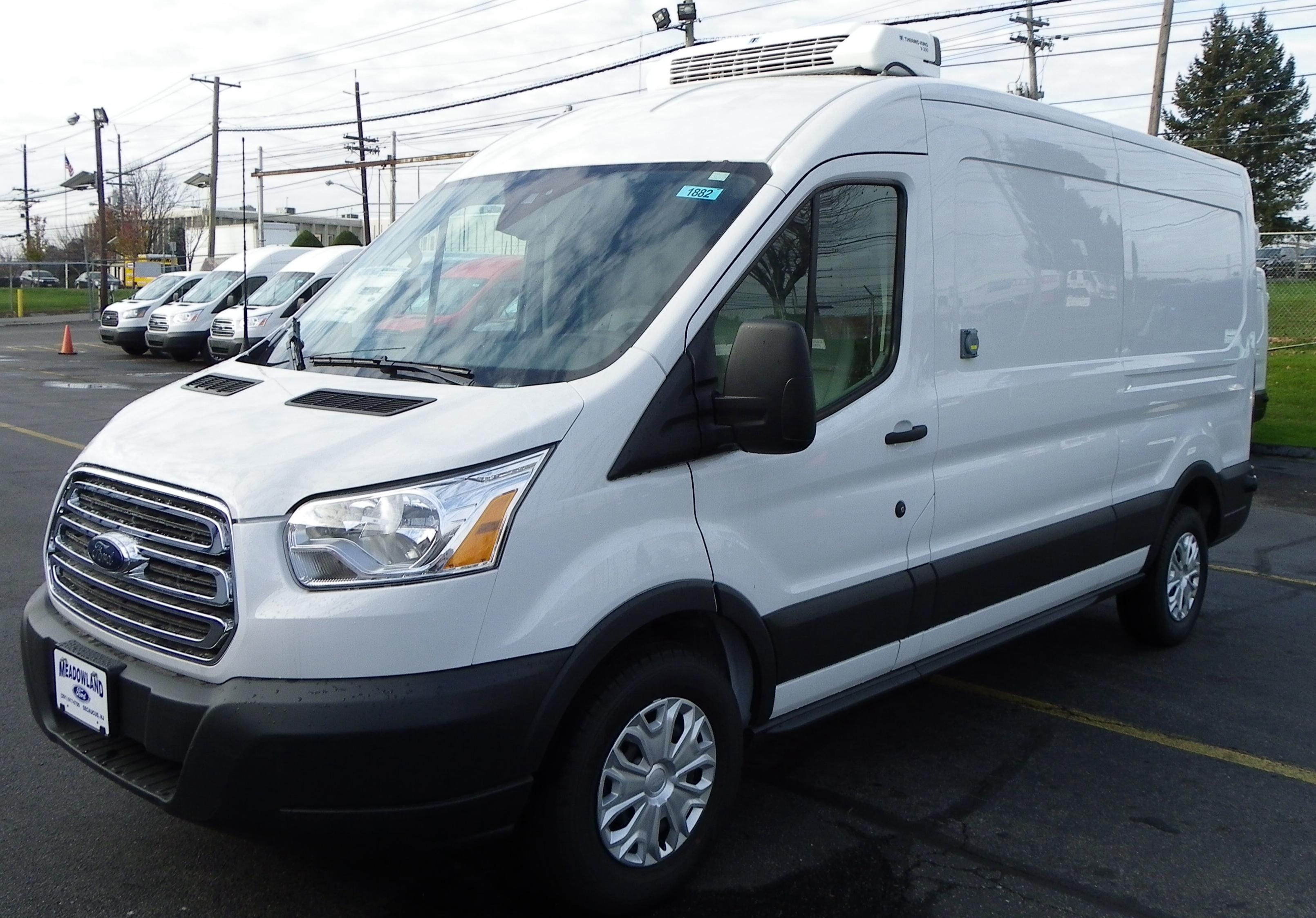 2017 Ford Transit Vanwagon Refrigerated Van Refrigerated Van