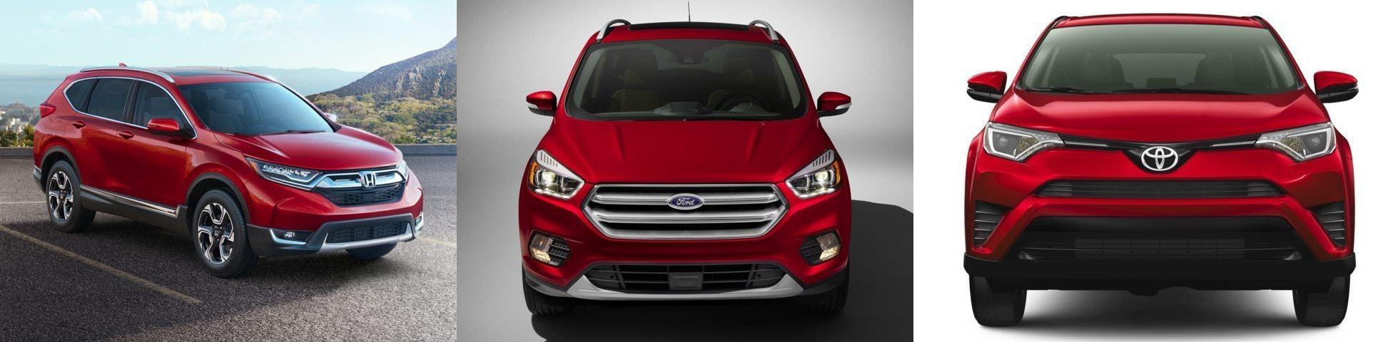 Compare the 2017 Escape SUV to CRV  RAV4 at Medford Ford  New