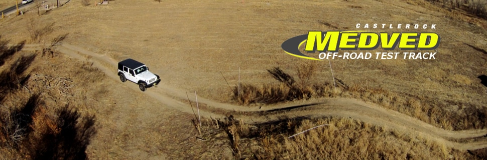 Discover adventure with a test drive on the off road test track at Medved Chrysler Dodge Jeep Ram in Castle Rock, CO!