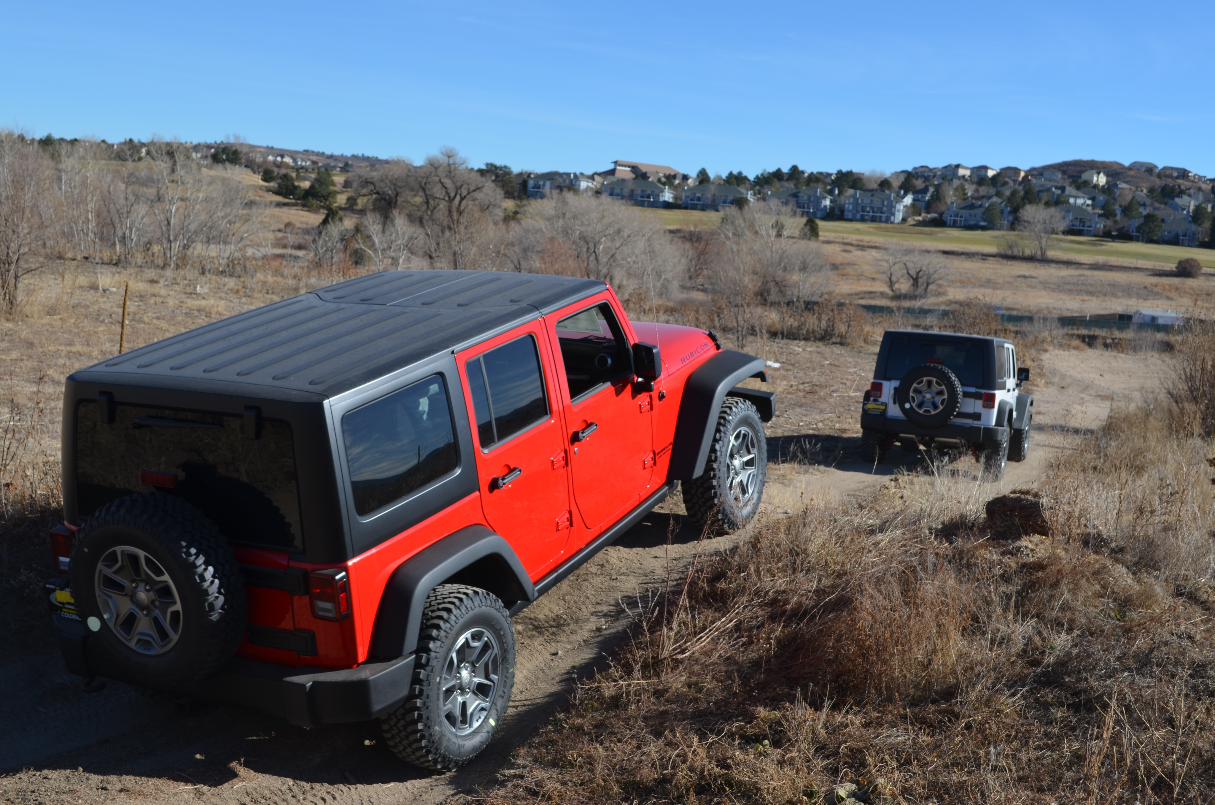 Explore the off road capabilities of your next Jeep vehicle at the off road test track at Medved Chrysler Dodge Jeep Ram.