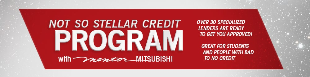 Mentor Mitsubishi's Clean Slate Credit Program
