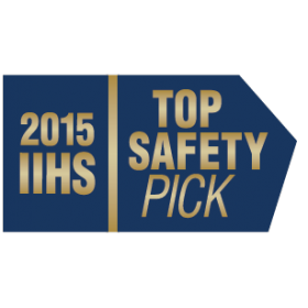 2015 Mitsubishi Outlander Sport IIHS Top Safety Pick Award