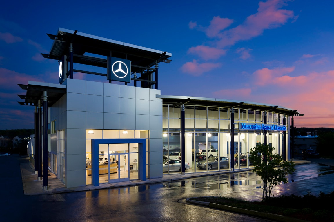 Mercedes benz of alexandria new used car dealer for Mercedes benz repairs