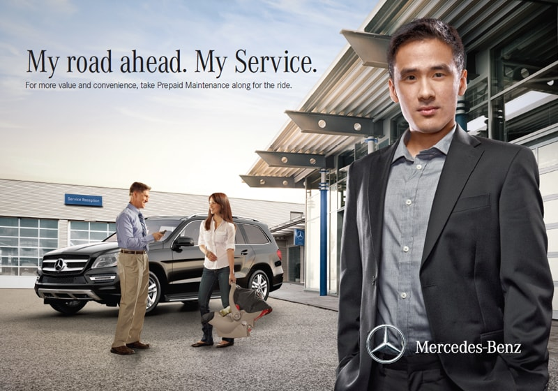 Pre paid maintenance at mercedes benz dealer serving for Mercedes benz service department