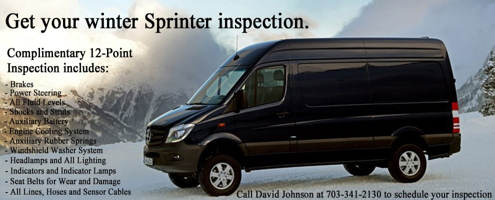 Mercedes benz sprinter dealer serving washington dc for Mercedes benz collision center alexandria va