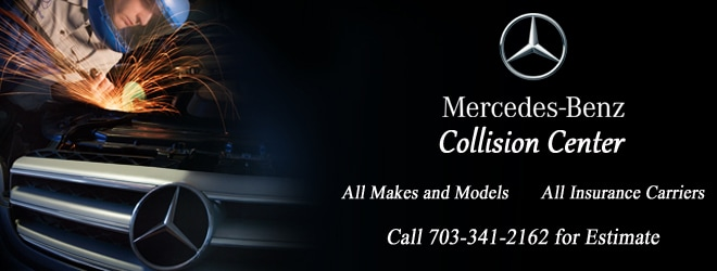 auto body shop collision center 703 341 2162 mercedes