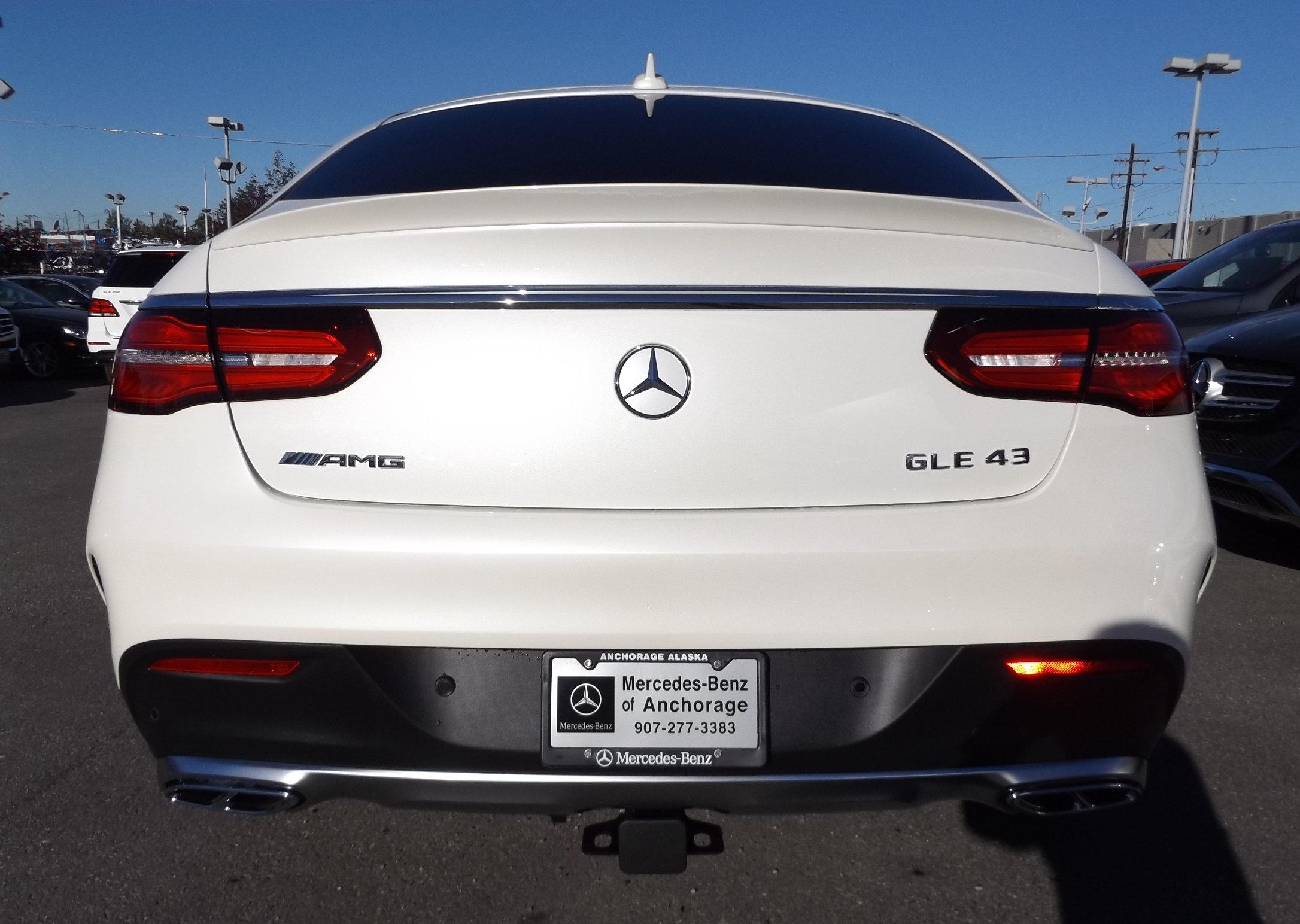 New 2017 mercedes benz amg gle63 for sale anchorage ak for Mercedes benz anchorage
